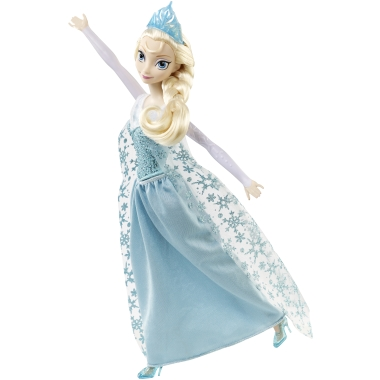 エルサ人形も手を広げて「LET IT GO ♫♫ LET IT GO ♫♫ レリゴー!レリゴー!」とネガティヴな気持ちを吹き飛ばしている!!