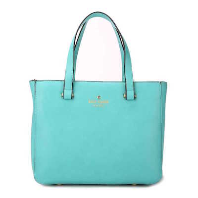 Kate Spade New York 2 Park Avenue Sweetheart Top Handle Bag Giverny Blue
