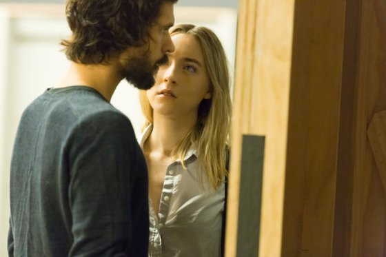 "via New York Times Ben Whishaw and Saoirse Ronan are set to star in ""The Crucible."" CreditJan Versweyveld"